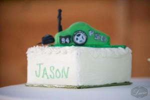 Melissa & Jason Grooms cake