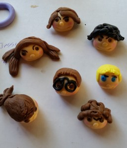 handmade figurines for life story cake